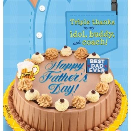 Goldilocks Fathers Day Cake