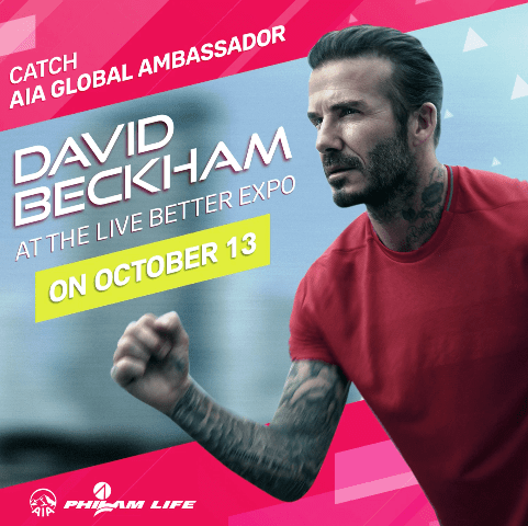 David Beckham for AIA Philam