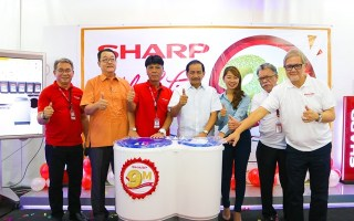 Sharp Philippines 9th Million Washing Machine