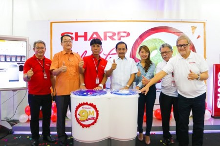 Sharp Philippines 9th Million Washing Machine