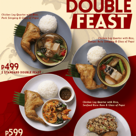 Max's Double Feast Meals