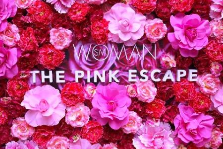 SM Woman Pink Escape Breast Cancer Awareness