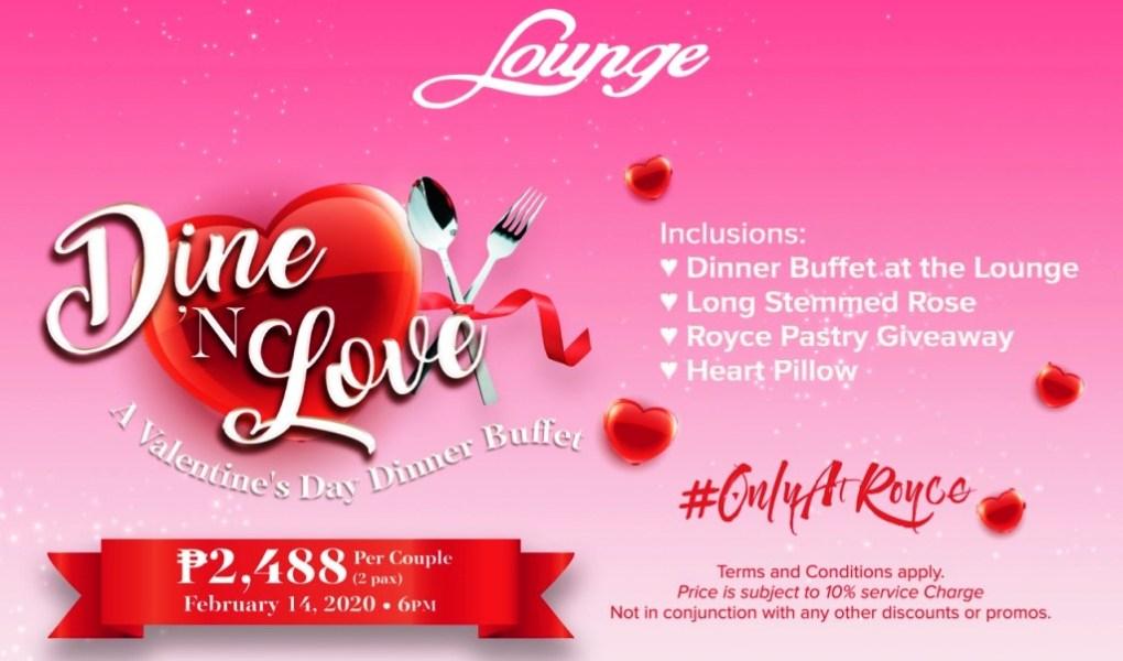 Dine 'N Love #OnlyAtRoyce