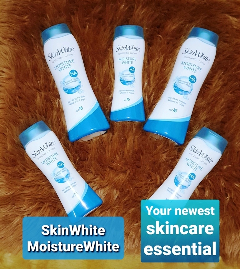 SkinWhite MoistureWhite Your Newest Skincare Essential Hyaluronic Acid