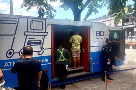 BDO ATM on Wheels