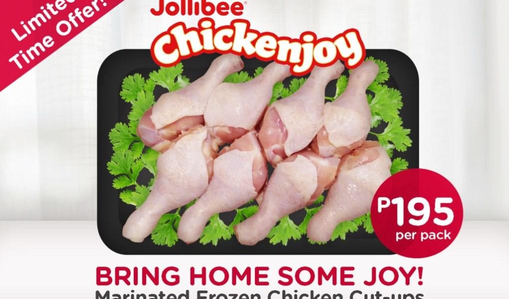 Frozen Jollibee Chickenjoy Available in Alfamart