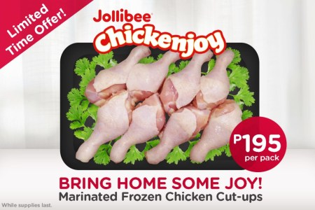 Frozen Jollibee Chickenjoy Available in Alfamart