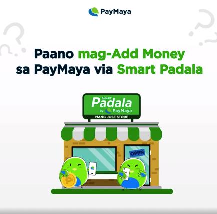 Add Money via Smart Padala