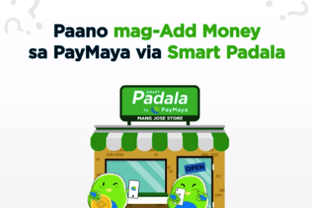 Add Money via Smart Padala