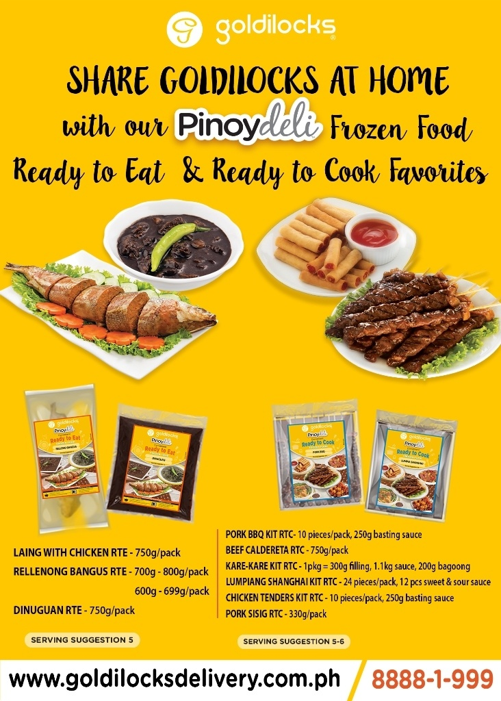 Goldilocks Hassle-Free Cooked Meals