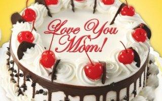 Goldilocks Mothers Month Cake