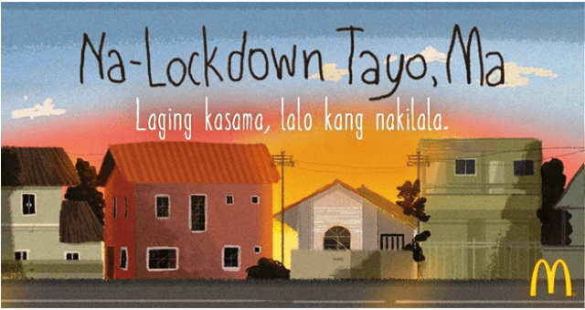 McDonald's Na-lockdown tayo, Ma