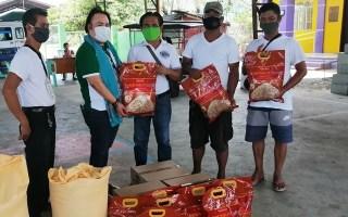 SL Agritech Donates Brown Rice Photo