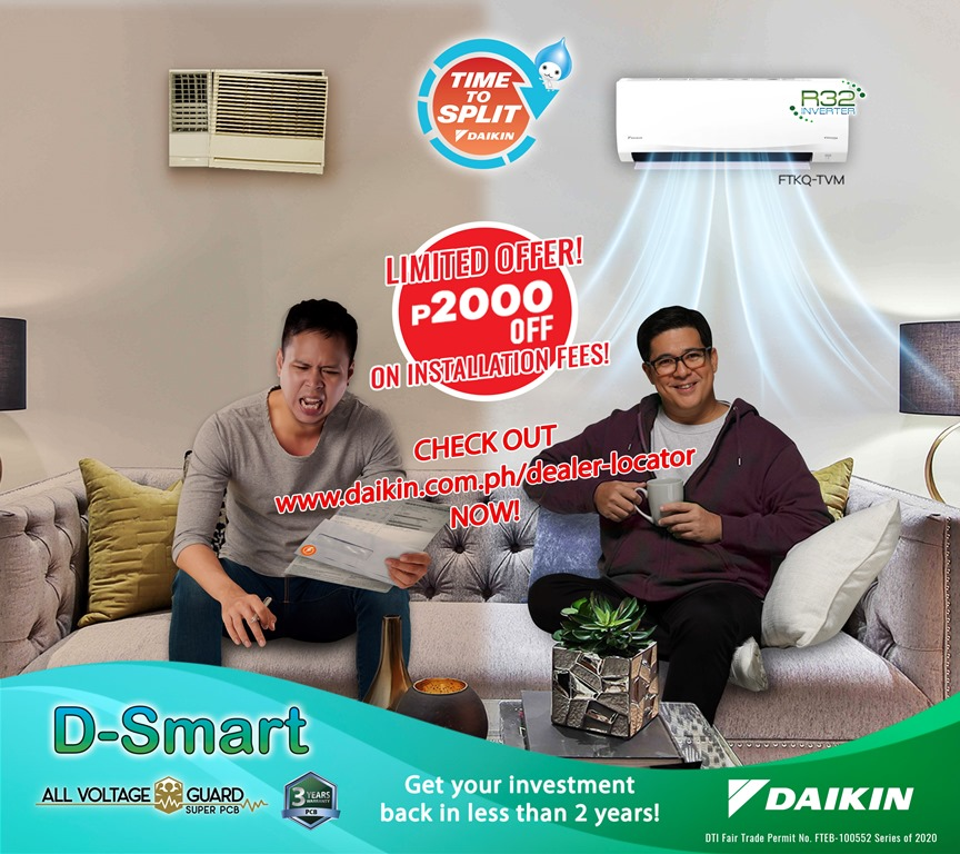 Daikin Eco King Series D-Smart Inverter Aircon
