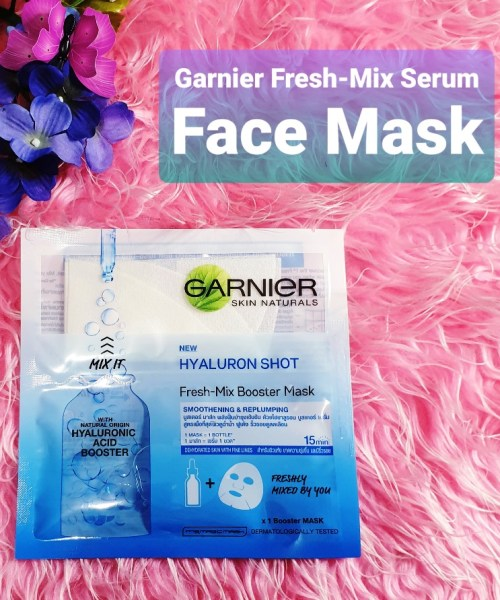 Garnier Fresh-Mix Serum Face Mask - Hyaluron Shot