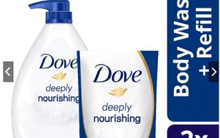 Shopee Unilever BUNDLE Dove Deeply Nourishing Body Wash 1L With 650ml Refill Set
