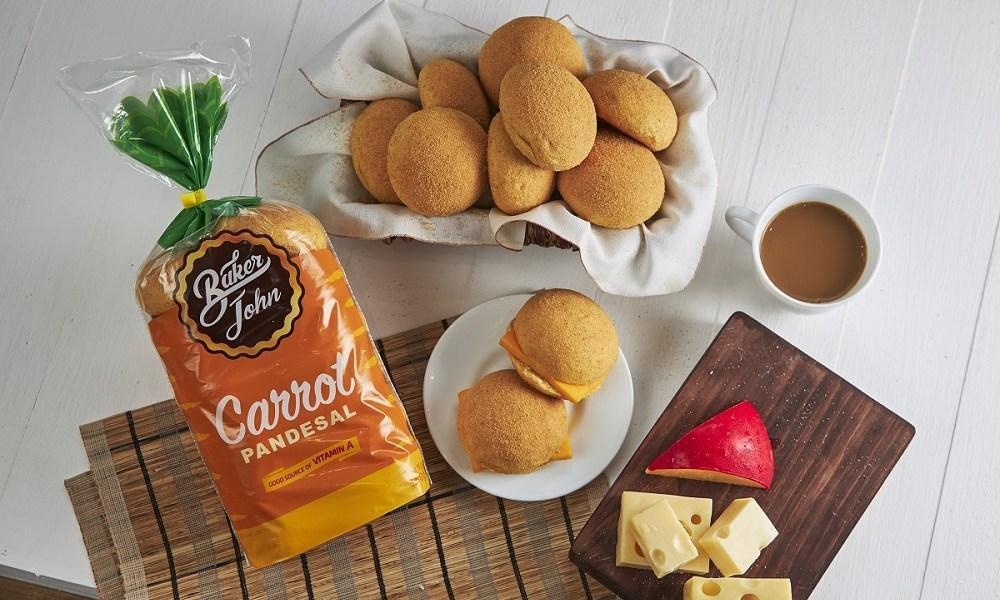 Baker John Carrot Pandesal