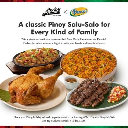Max's Dencio's Pinoy Salu-Salo