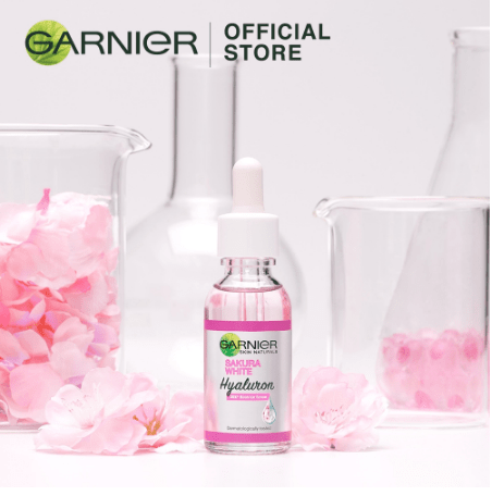 Garnier Sakura White Serum 30mL For Pinkish Glow