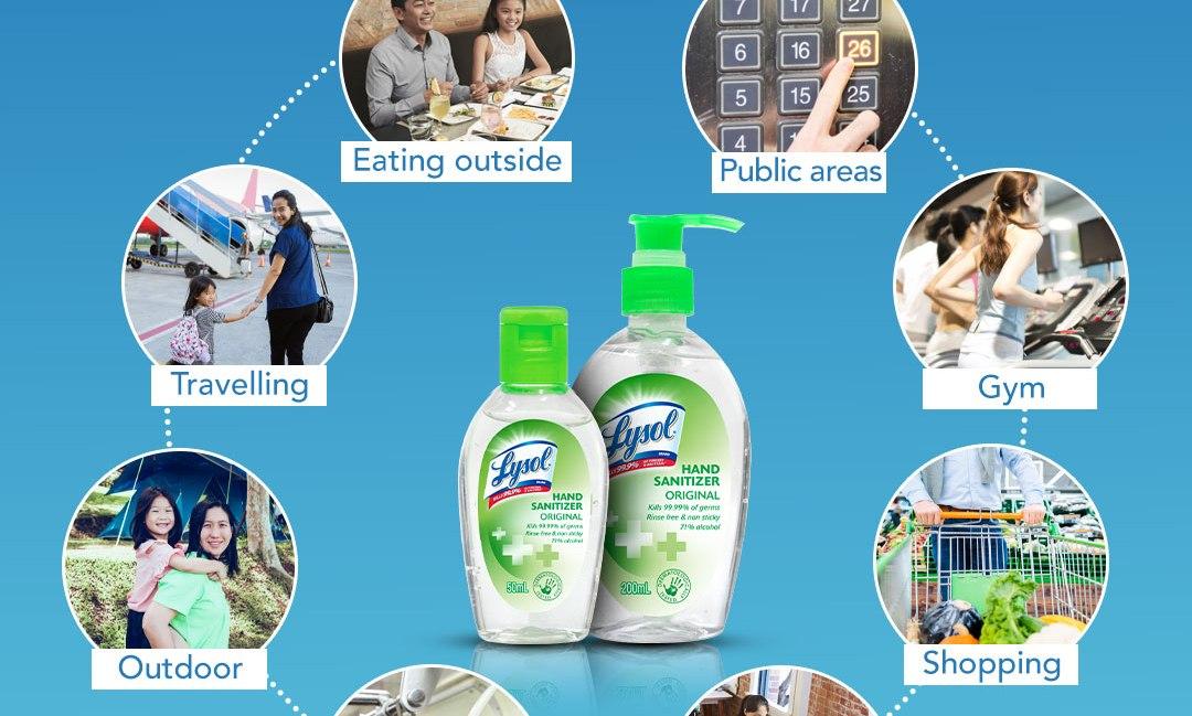 Lysol Hand Sanitizer