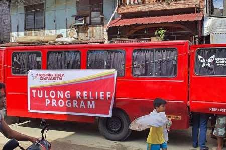 Rising Era Dynasty MARIKINA Relief Operations