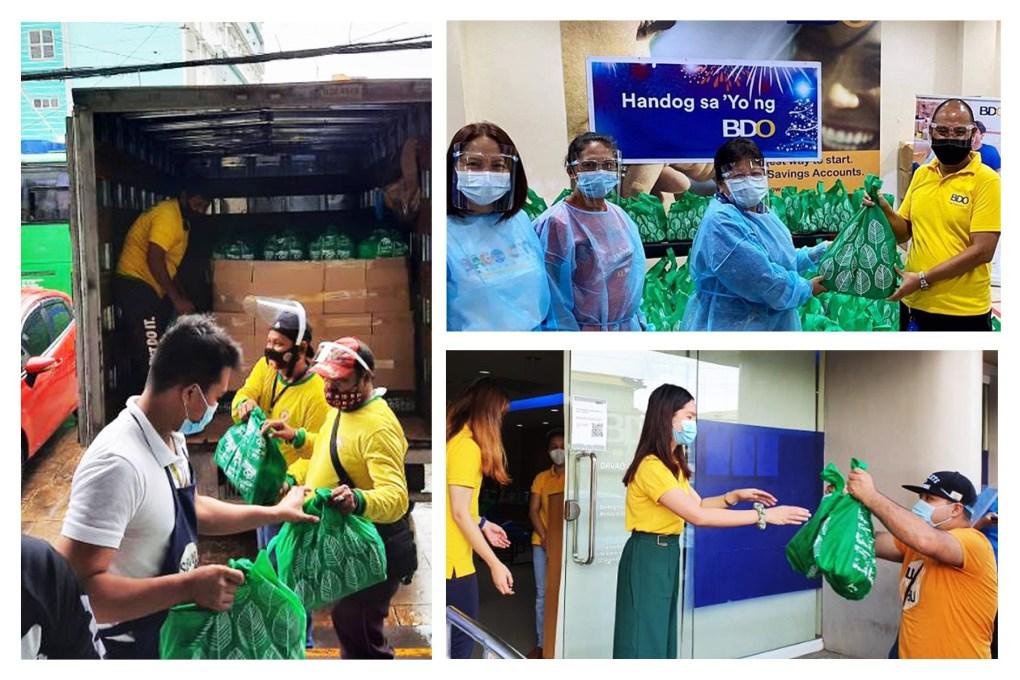 BDO employees uphold volunteerism via Handog Sa 'Yo initiative