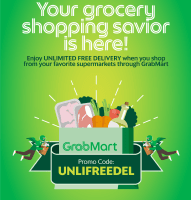 Enjoy Unlimited Free Delivery Grocery Shopping with new GrabMart Promo