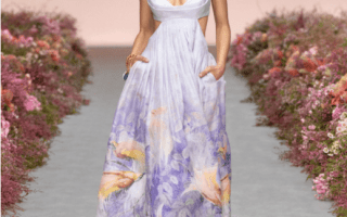 The Volte Zimmermann Candescent Bralette Gown
