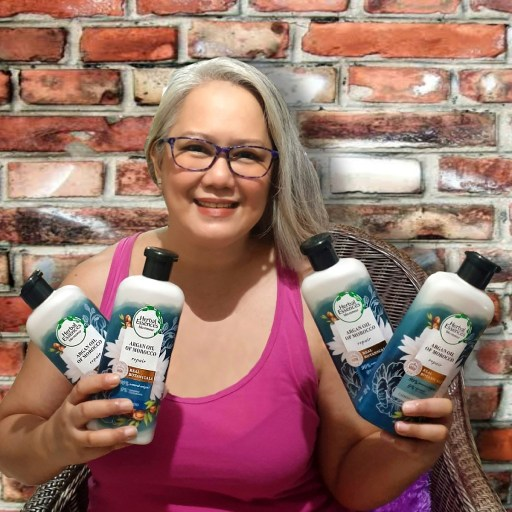 Herbal Essences Argan Oil of Morocco Shampoo and Conditioner