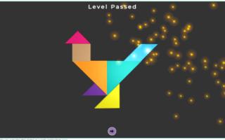 3D Tangram Playing Online Games