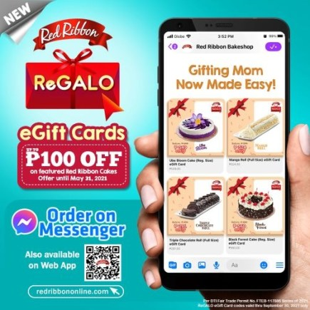 Red Ribbon New ReGALO eGifting Service