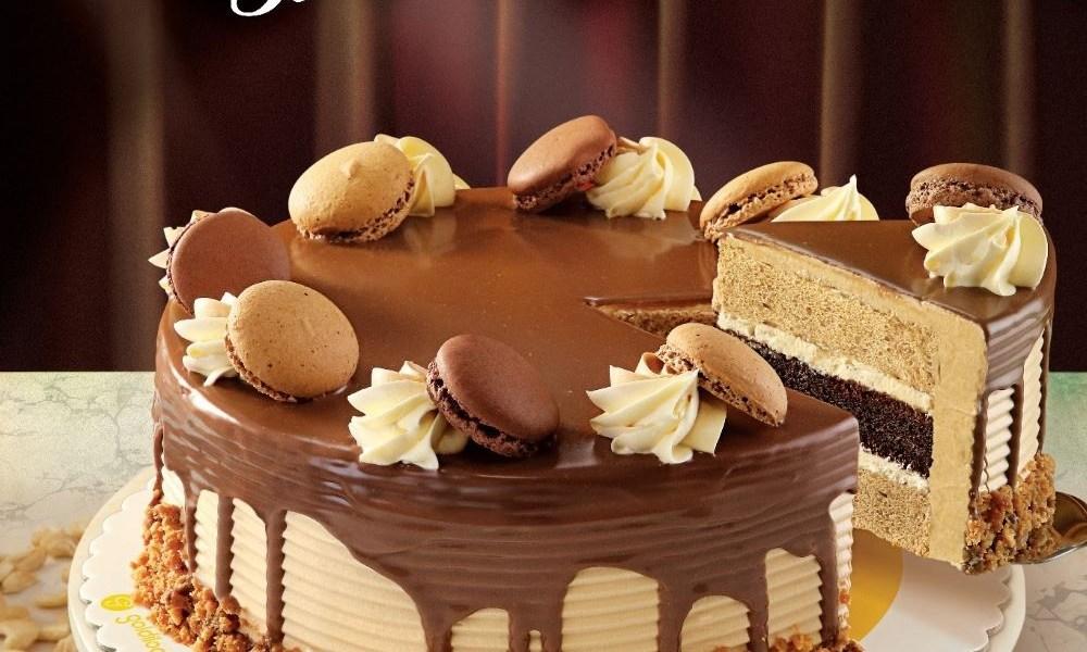 Goldilocks Ultimate Mocha Symphony Cake