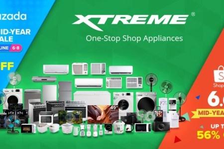 Extreme Appliances Lazada Shopee 6.6 Midyear Sale
