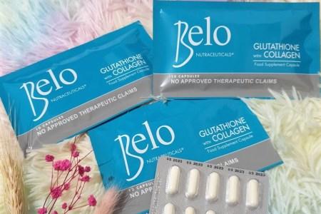 Belo Nutraceuticals Glutathione+Collagen 30s
