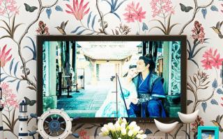 IDA Wallpaper European Floral Design