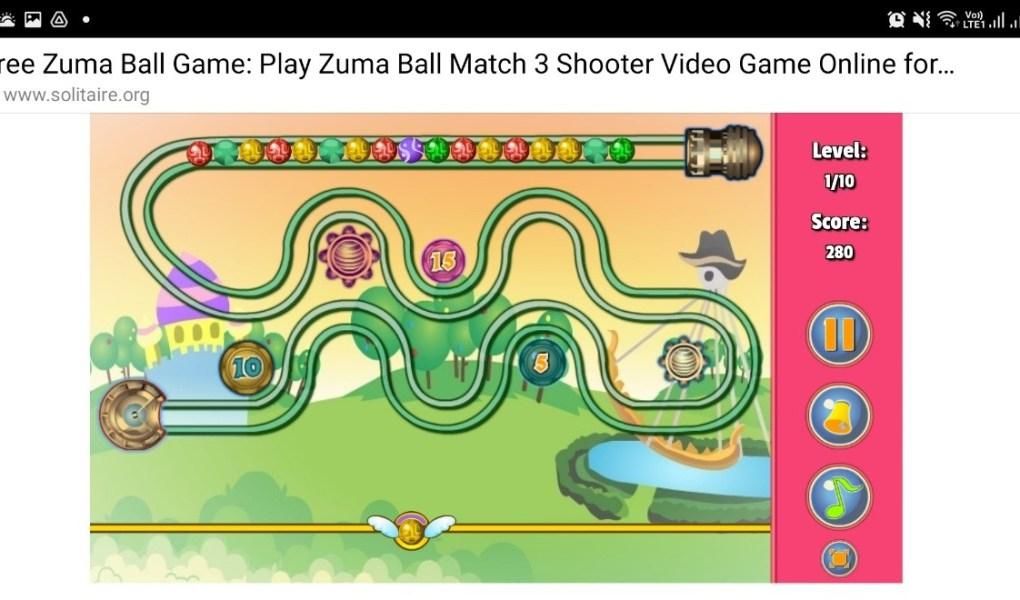 Zuma Ball Game