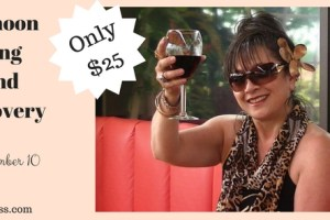 Join Me For Sipping Wine and Self-Discovery