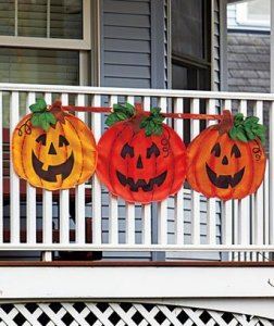 pumpking bunting, halloween pumpkin, halloween bunting, outdoor halloween decorations, outdoor decorations, fall pumpkin decor, fall pumpkin bundting