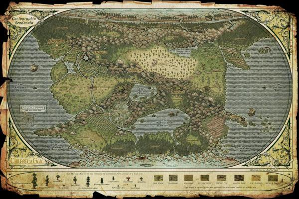 Rendaraia Map - signed