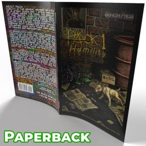 PACK issue 01 Humility paperback cover open