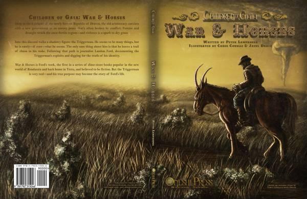 Children of Gaia War & Horses full Wrap Around Cover