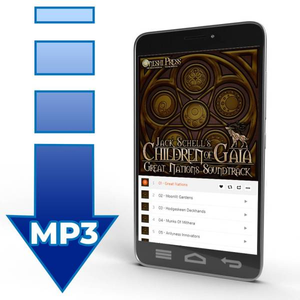 Children of Gaia: Great nations soundtrack album by Jack Schell, the Soundweaver