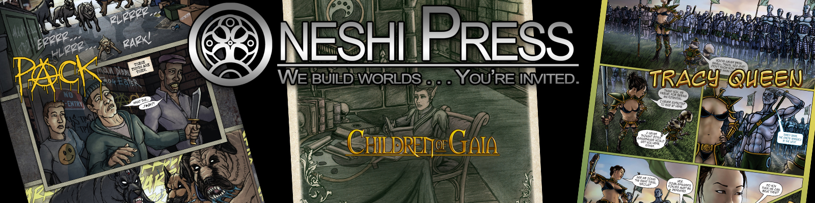 Oneshi Press - Patreon Campaign Profile Banner