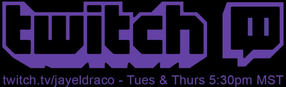 Jayel Draco – Twitch Livestream Schedule – Twitch Logo