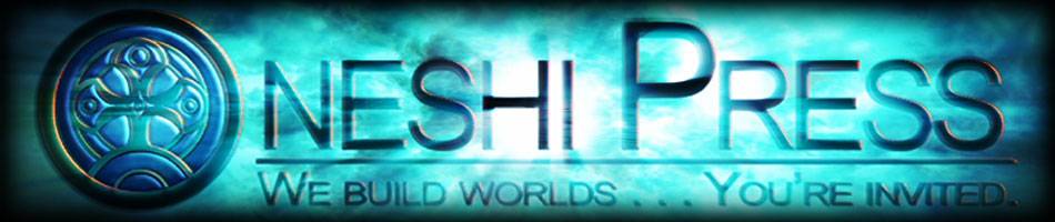 Oneshi Press – Site Header Logo – Cosmic