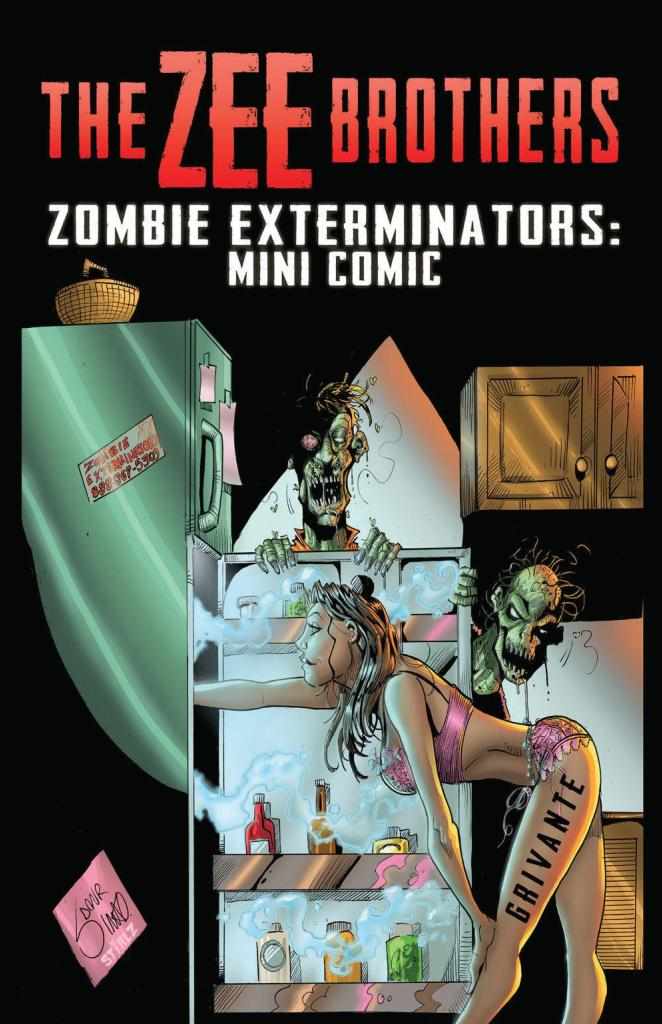 the zee brothers zombie omelet part 1 creator interview grivante oneshi press