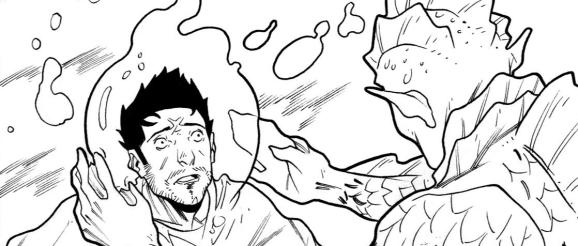 sneak peek my giant strange friend luca cicognola aj o. mason page 8 panel 3 anthology #08