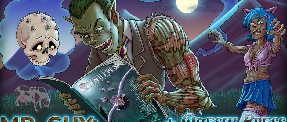 Mr. Guy: Zombie Hunter and Oneshi Press Comics Anthology 10 coming to kickstarter July 1st - 31st
