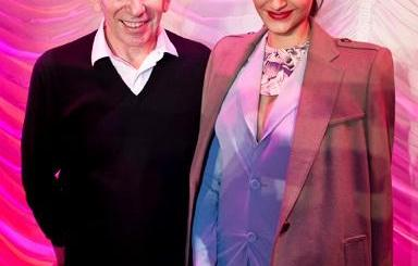 Sonam Kapoor Spotted with Jean-Paul Gaultier