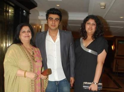 [arjun kapoor mother]